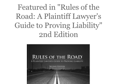 """Featured in """"Rules of the Road"""" 2nd Edition"""
